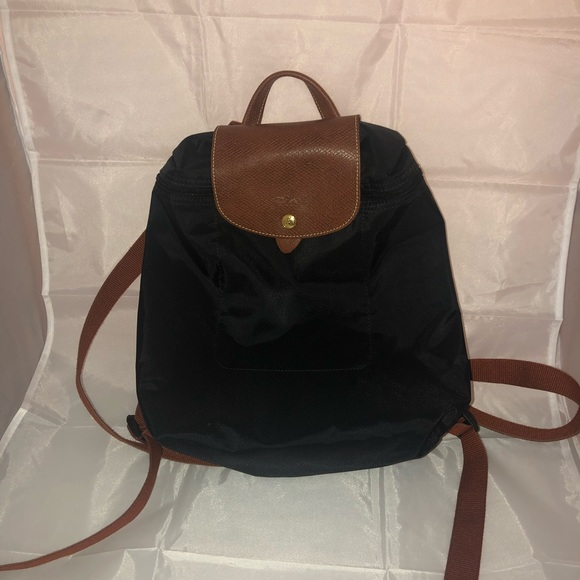 Authentic Longchamp Sac a Dos Mini Backpack